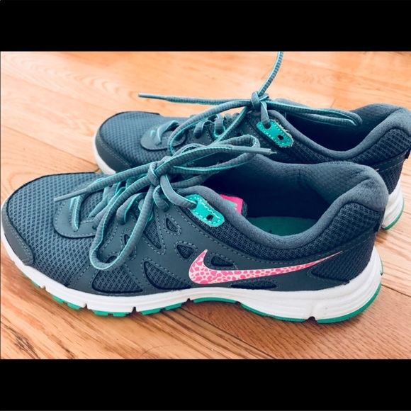 Colorful Nike Athletic Shoes